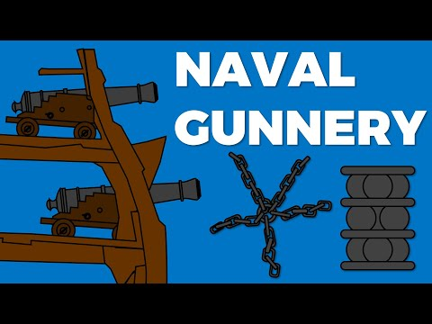 Gunnery, Guns & Ammo in the Age of Sail (1650 -1815)