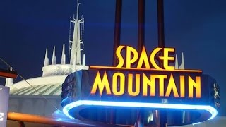 [HD] Amazing Low Light! Space Mountain Disney World POV 1080p 60fps Complete Ridethrough