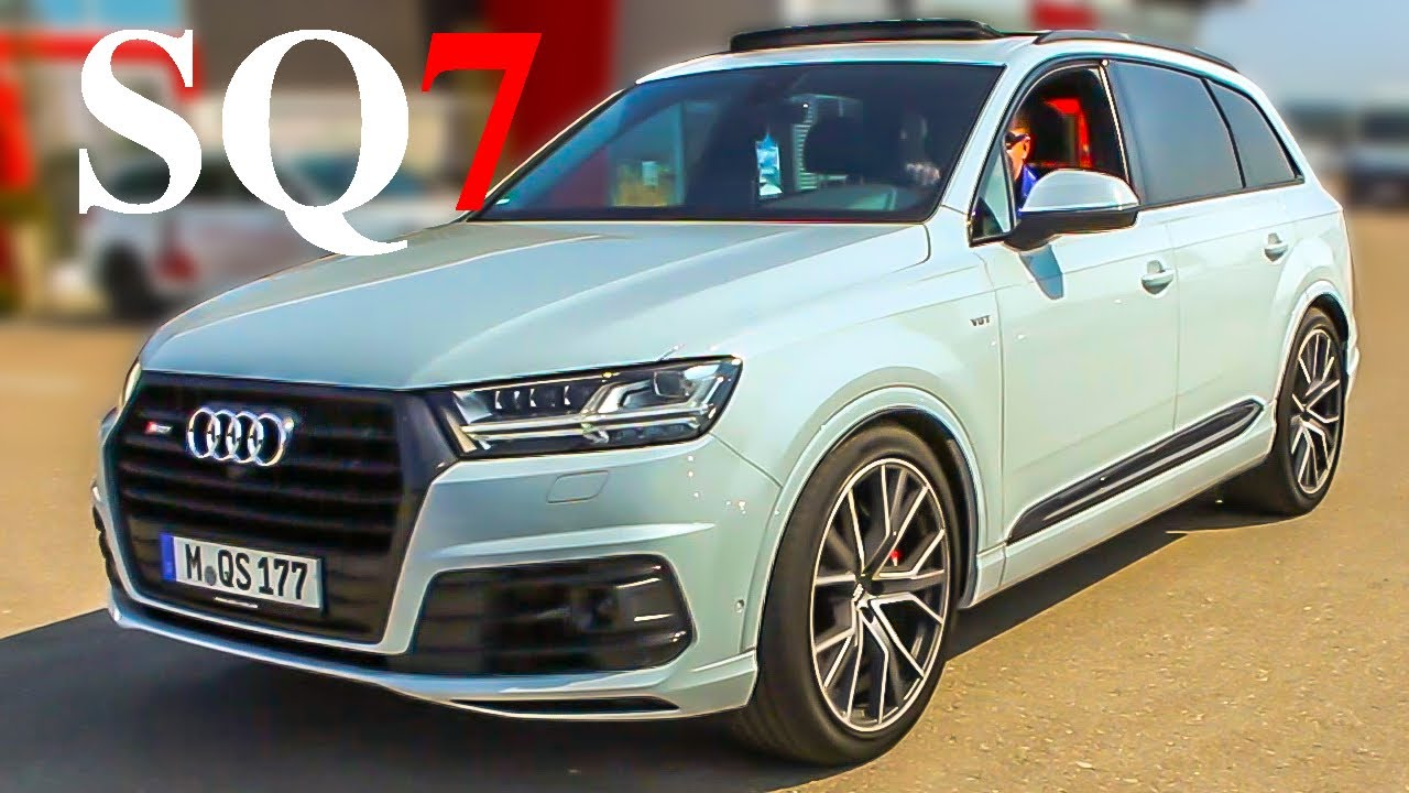 New Audi SQ VT Diesel Short Ride To The Car Lot And Back - Audi car lot