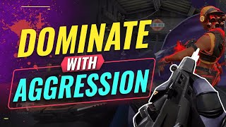 How To SOLO CARRY Games With Aggression - Valorant