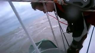 Bigwig 2 First 36.7 Spinnaker in 25-30 knots of wind