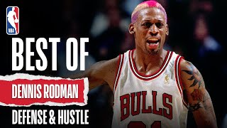 Dennis Rodman's Lockdown Defensive Performances!