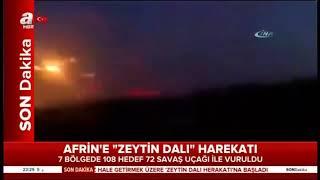 SON DAKİKA!!! Afrin'e Böyle Girdik!! (Çatışma)