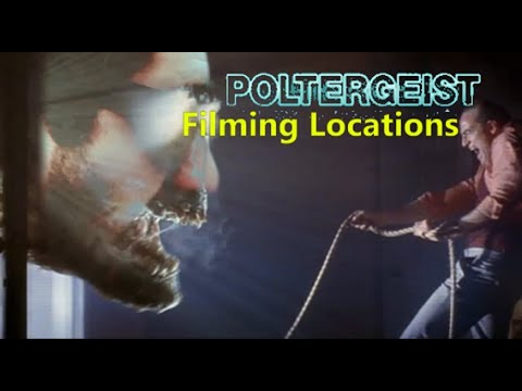Poltergeist 1982 ( FILMING LOCATION ) Spielberg Tobe Hooper Horror Movie