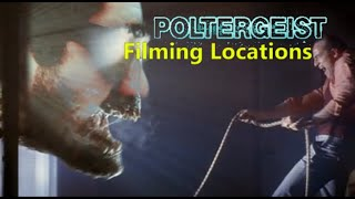 Poltergeist 1982 ( FILMING LOCATION ) Spielberg Tobe Hooper horror movie