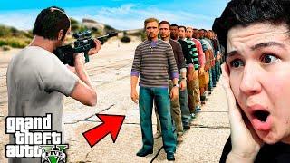 ¿Cuantas PERSONAS Puedes MATAR con 1 BALA en GTA 5? Grand Theft Auto 5 - GTA V