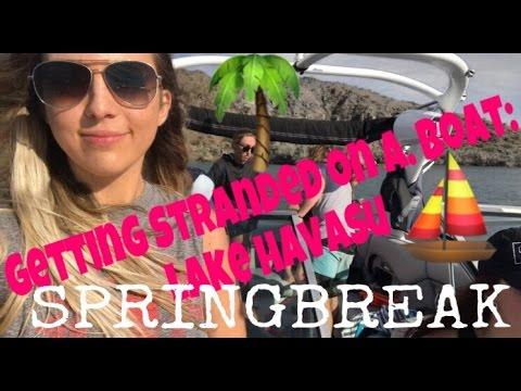 STRANDED ON A BOAT Kygo Selena Gomez It Aint Me Traveling Havasu SPRINGBREAK 2017