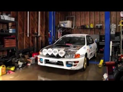 Rally Car Rebuild Time Lapse Video