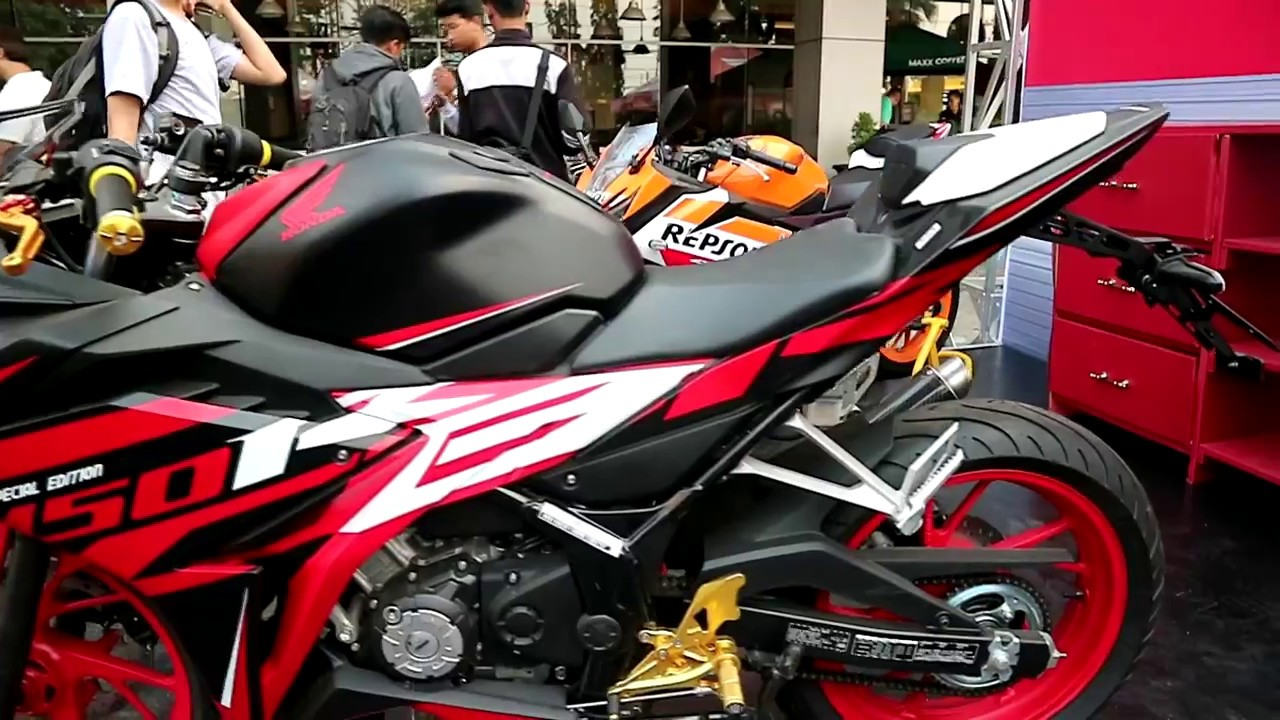 Honda Cbr 150 R Special Edition 2017 Youtube