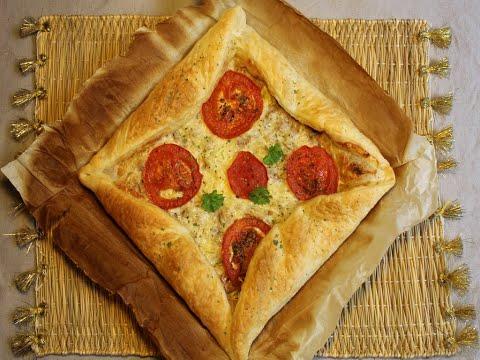 tarte-feuilletée-au-thon-#recette_rapide-#recette_ramadan-#recette_apéro