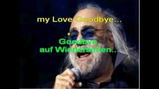 Goodbye my Love,goodbye Demis Roussos karaoke DEMO c beranek robinson 2013