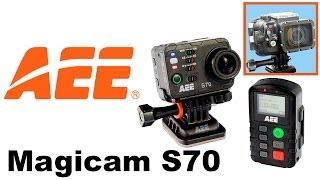 aEE Magicam S70  экшн-камера  видео обзор 130.com.ua
