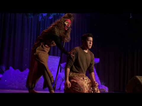 Anna as Rafiki in The Lion King Jr, Boardman Center Middle School, March 2016