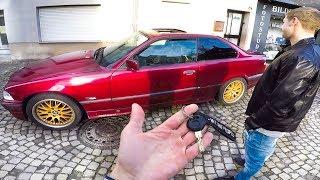 ПОДАРИЛ ПОДПИСЧИКУ свою BMW за 100.000р.
