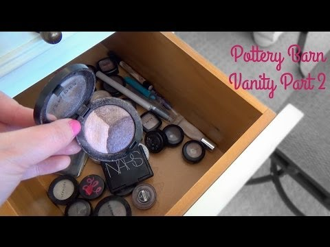 Pottery Barn Vanity Closeup (Part 2)