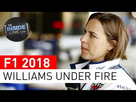 F1 NEWS 2018 - WILLIAMS: UNDER FIRE [THE INSIDE LINE TV SHOW]