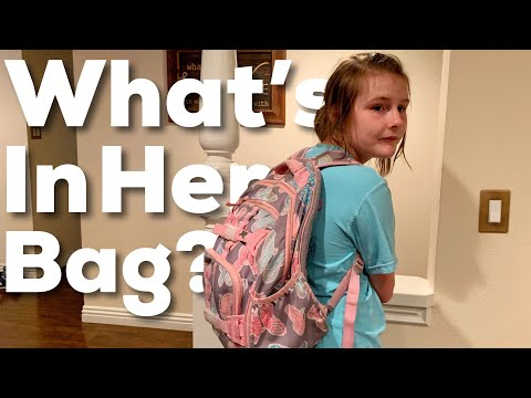 What's In Her Backpack? Abbie's Everyday Carry Bag