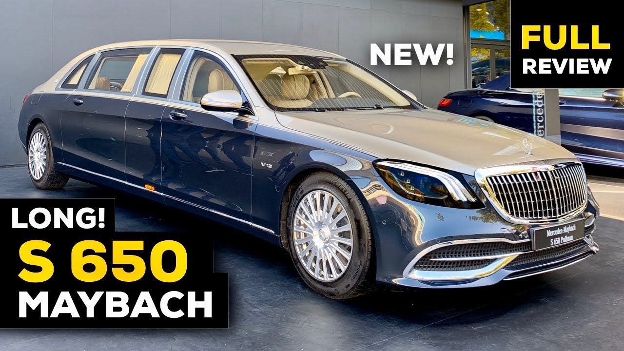 2020 Mercedes Maybach S650 Pullman Guard V12 Long New Full Review Brutal Security Interior Exterior Youtube
