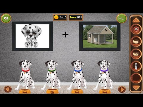 8b Dalmatian House Escape walkthrough 8bGames.