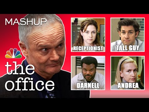 Creed Can't Remember Anyone's Name - The Office