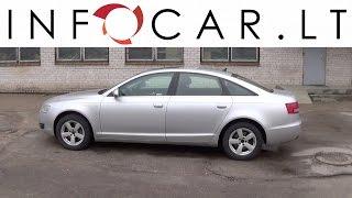 Infocar.lt Audi A6 atsiliepimai / apžvalga