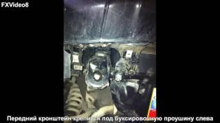 Установка защиты АвтоЩИТ на Nissan Pathfinder R51