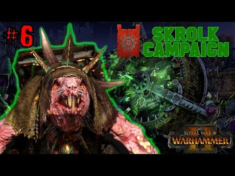 [Live Stream] Lore Q&A + Skaven Campaign #6  - SKROLK KILLS HIGH ELVES | Total War: Warhammer 2