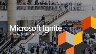 Microsoft Ignite 2018   Vision Keynote