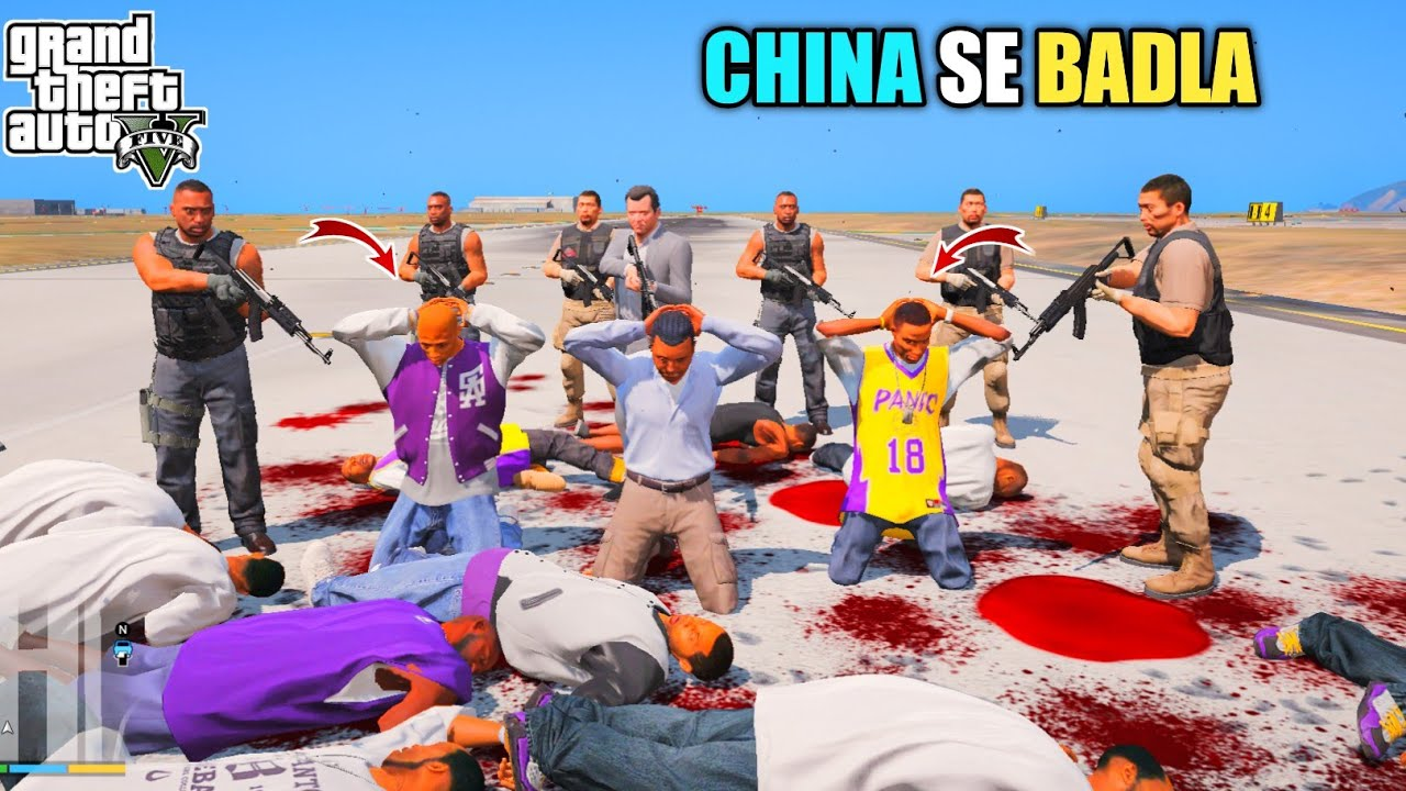 GTA 5 : CHINA SE LIYA BADLA || BB GAMING