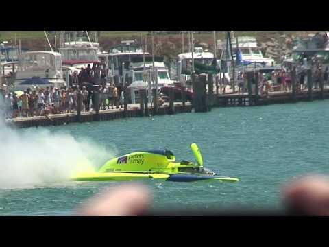 J.W. Meyers Hydroplane Crash 2010 APBA Gold Cup Detroit