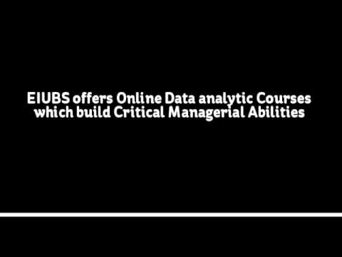 Data Analytics Course in Pune EIUBS
