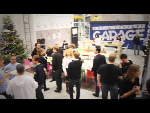 Aalto Venture Garage Tour