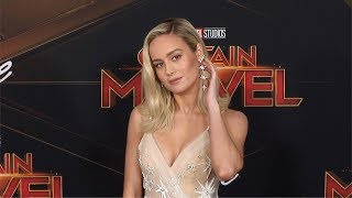 Subscribe! http://bit.ly/mrsda2broll footage: brie larson on the red carpet at 'captain marvel' world premiere held el capitan theater in los angeles,...