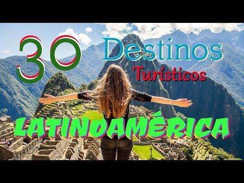 🌎 TOP 30 Destinos TURÍSTICOS de LATINOAMÉRICA / 🌎 30 MUST VISIT places in LATINAMERICA | Part 1