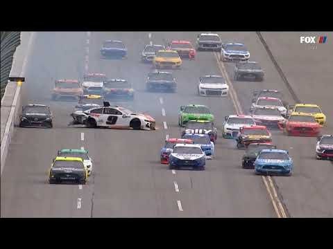 NASCAR Cup Series 2020. Talladega Superspeedway. Chase Elliott Crashes