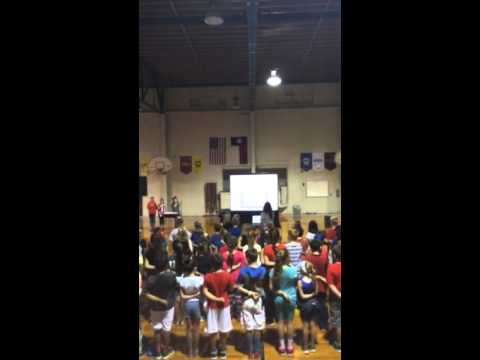 God Bless The USA by Alvord Elementary School