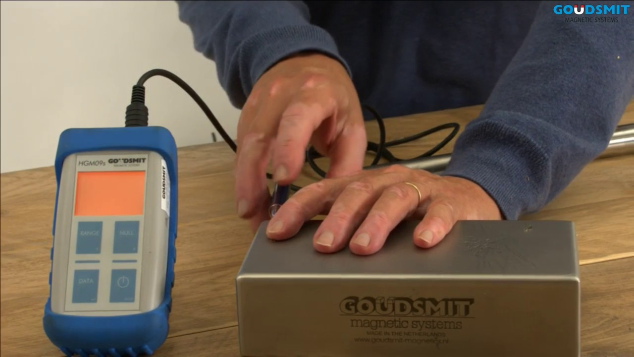 How to measure magnetic fields - Goudsmit magnetic Systems