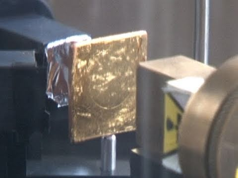 Rutherford Gold Foil Experiment - Backstage Science