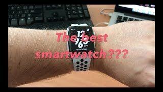 Apple watch Series 3 Nike +  (2017) speed test and first look