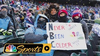 On the Road: Embracing the cold at 2018 NHL Winter Classic
