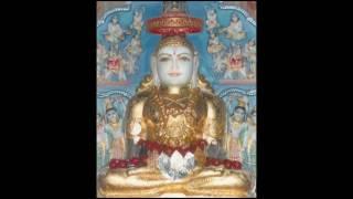 Jain Bhajan - Bhakti Ki Hai Raat Dada Aaj Thane Aano Hai With Hindi Lyrics