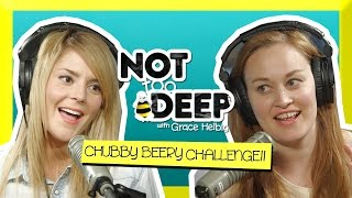 THE CHUBBY BEERY CHALLENGE ft Mamrie Hart // Grace Helbig Thumbnail