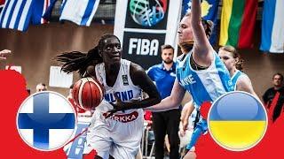 Finland v Ukraine - Class. 7-8 - Full Game - FIBA U18 Women's European Championship Division B 2018