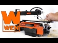 WEN 16-Inch Two-Direction Variable Speed Scroll Saw (Product Demonstration)