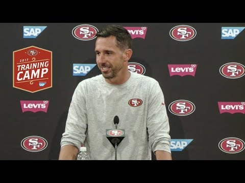 Kyle Shanahan Sees Lots of Competition on 49ers Roster