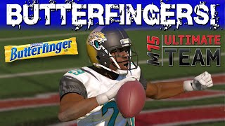 Madden 15 Ultimate Team - Butterfingers! Playoff Struggles Gone? - Mut 15 Gameplay - Madden 15 Ps4