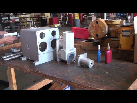 Assembly of a Hydraulic Diaphragm Metering Pump