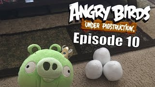 Angry Birds Under Pigstruction Plush Episode 10: King Pig