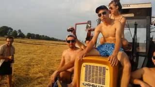 Mobilny basen na przyczepie - Traktor Party 2