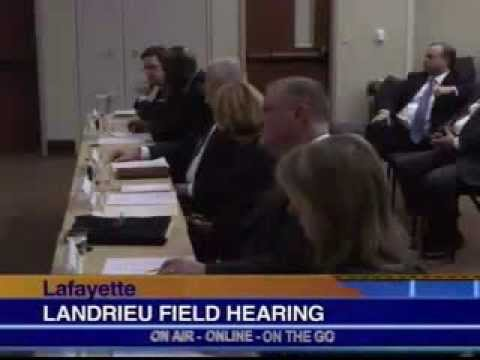 KLFY: Landrieu holds small business oil and gas producers field hearing